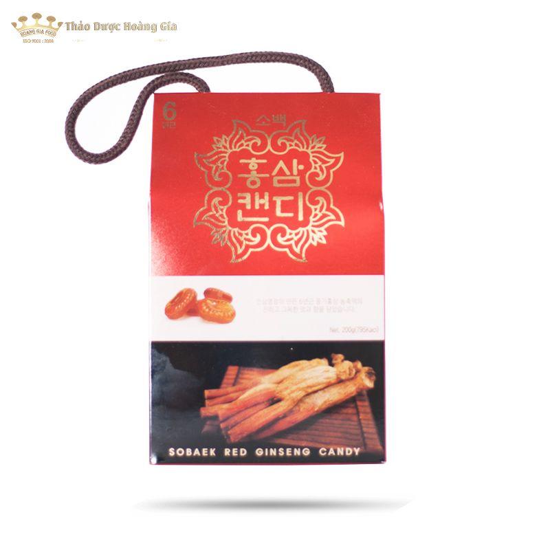 Kẹo Sâm Hàn Quốc Sobaek Korea Red Ginseng 200g